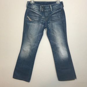 DIESEL INDUSTRY Hush Boot Cut Jeans Size 28